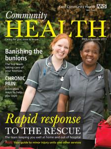 Magazine cover summer 2013