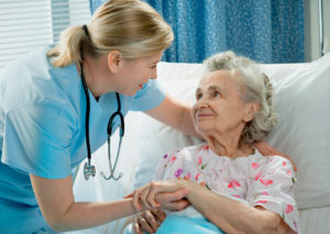 Patient and nurse_shutterstock_74083033