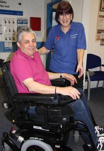 Wheelchair-service