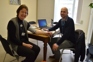 Cathedral staff take up NHS Health Checks