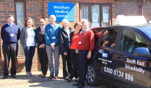 South East DriveAbility Team at Westham Surgery
