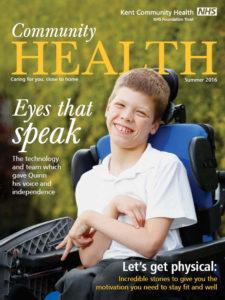 Community Health magazine cover Summer 2016