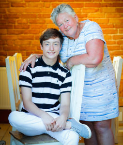 George-Coulman-and-mum