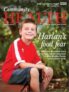 Community Health magazine autumn 2016 front cover