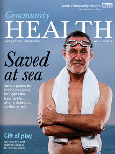 Community Health magazine -16 - front cover