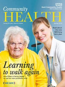 Community health magazine issue 25 front cover