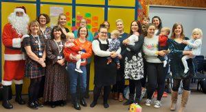Breastfeeding volunteers