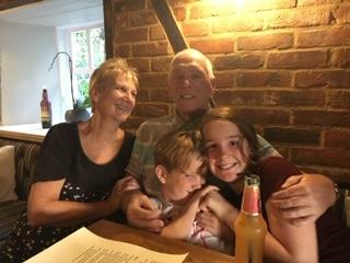 Julia and Brian Cordrey grandchildren