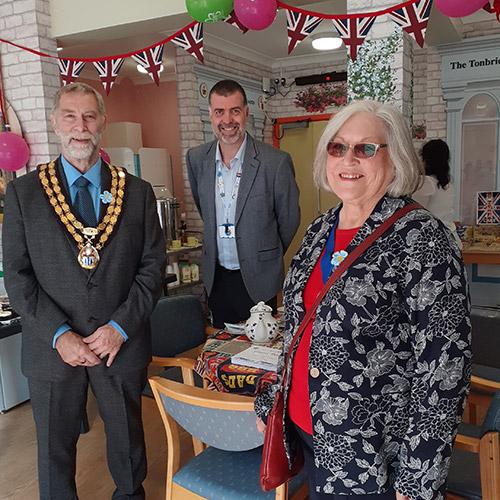 Tonbridge Cottage Hospital tea room